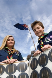 Scouts Going Solar